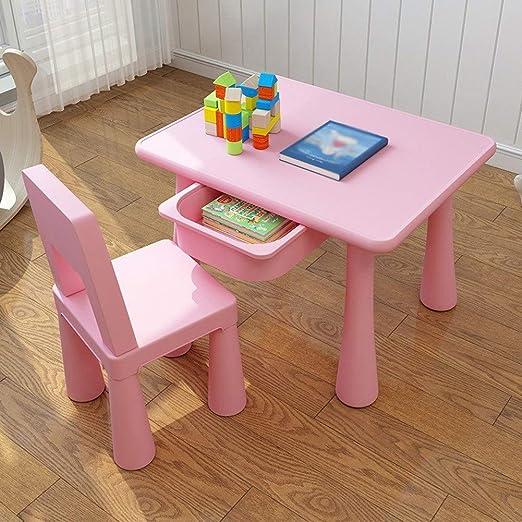LIANGJUN - Taburete de Mesa para niños, sillas para Leer ...