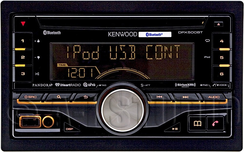 Car Stereo Reviews Kenwood dpx500bt