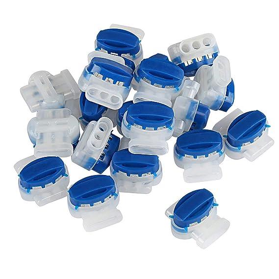 Ruesious 30 Piezas Conector de Cables para Robot Cortacésped ...