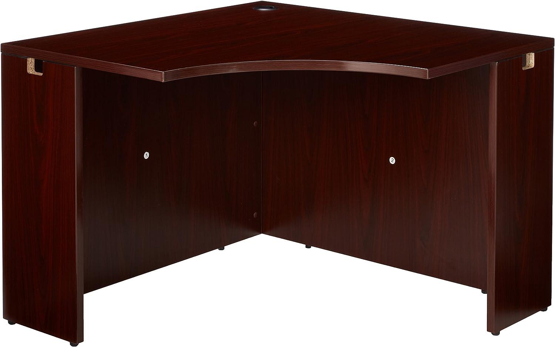 Lorell LLR69918 69000 Series Corner Desk, Mahogany: Home & Kitchen