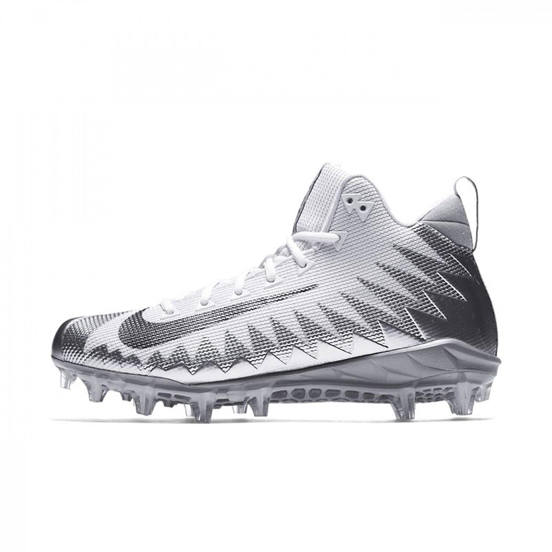 best sneakers db98d 95077 Galleon - NIKE Mens Alpha Menace Pro Mid Football Cleat (12 D(M) US,  Metallic SilverMetallic Dark Grey)
