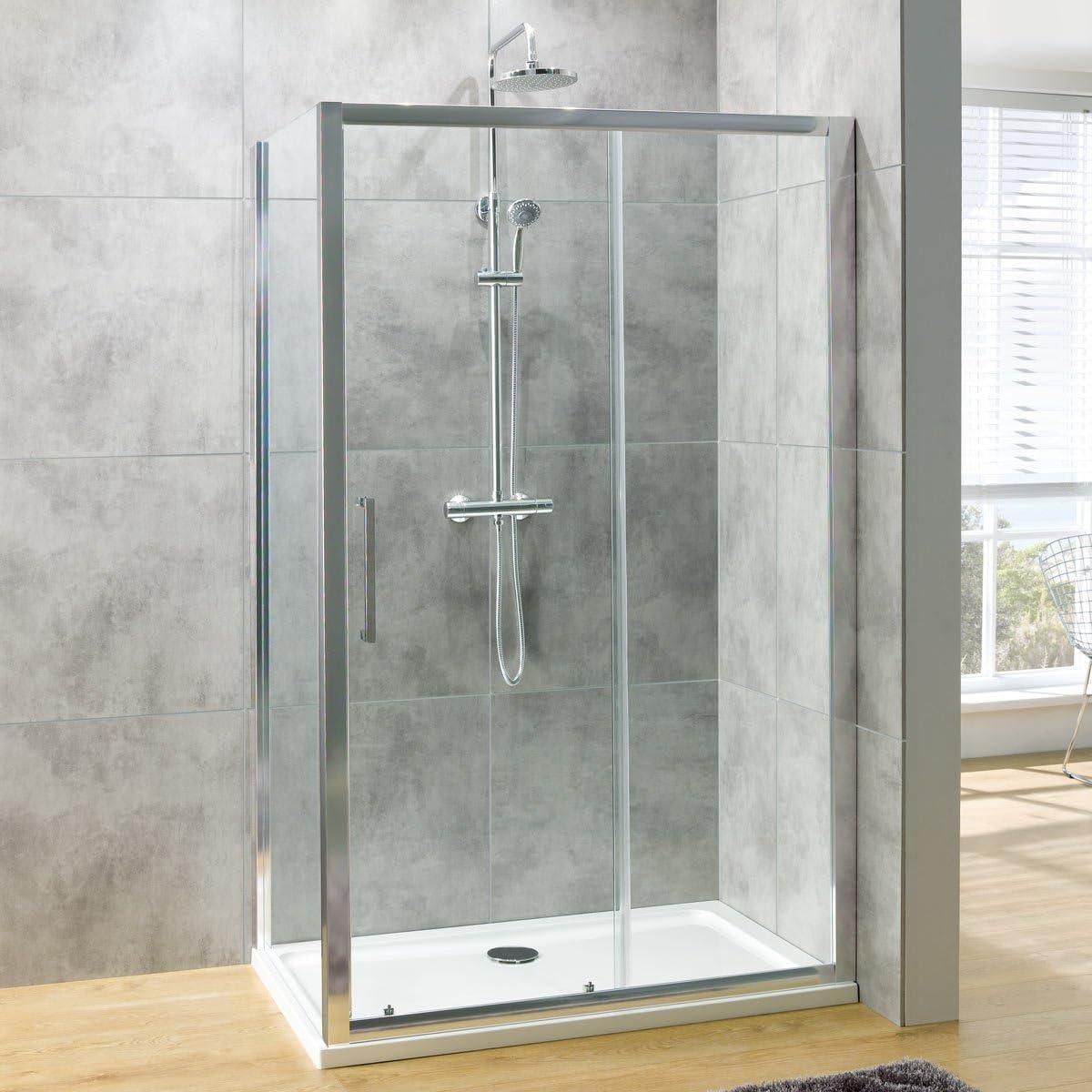 G8 - Mampara de ducha corredera (1400 x 700): Amazon.es: Hogar