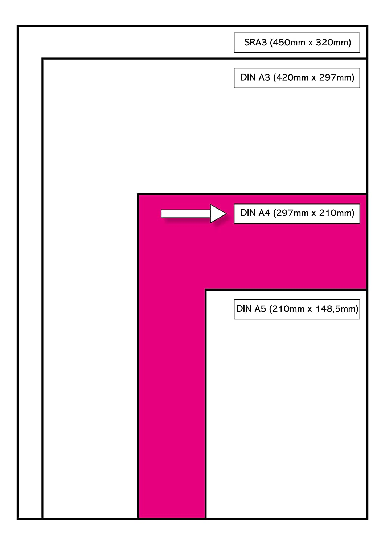 Image Coloraction Ramette de 500 feuilles Papier de couleur Rose clair Tropic 80 g//m/² A4