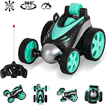 blue Myone RC Vehicle Stunt Car Remote Control Car,Safe and Durable,Best Gift for Boys Girls Hot Toys