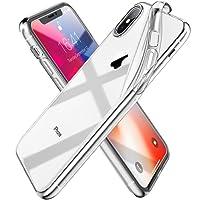 'Syncwire iPhone X Custodia Ultraflex Serie Soft Cellulare Custodia [Supporta Caricare senza fili] con protezione e flessibili Premium TPU Cristallo per 5.8Apple iPhone X/iPhone 10(2017)–cristallo trasparente