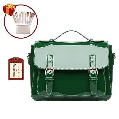 AuBergewohnlich Heidi Bag Women Vintage Flap Tote Top Handle Satchel Handbags School  Crossbody Messenger Bag