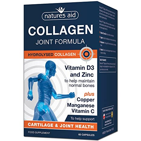 Natures Aid Collagen Joint Formula 60 Capsules