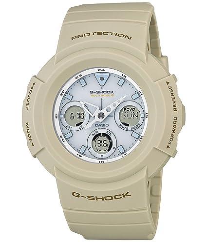 Reloj Casio G-shock Military Color Serie mundo seis estaciones correspondiente solar Radio awg-m510sew-7ajf hombre: Amazon.es: Relojes