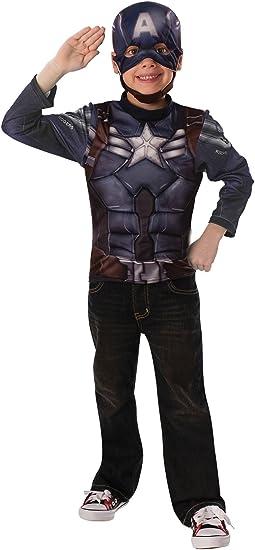 Rubies Kit Disfraz Capitán América Soldado de Invierno Retro y ...