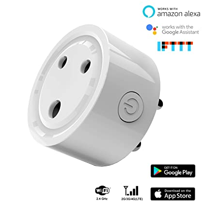 Hoteon Mini Smart Plug Compatible with Alexa Google