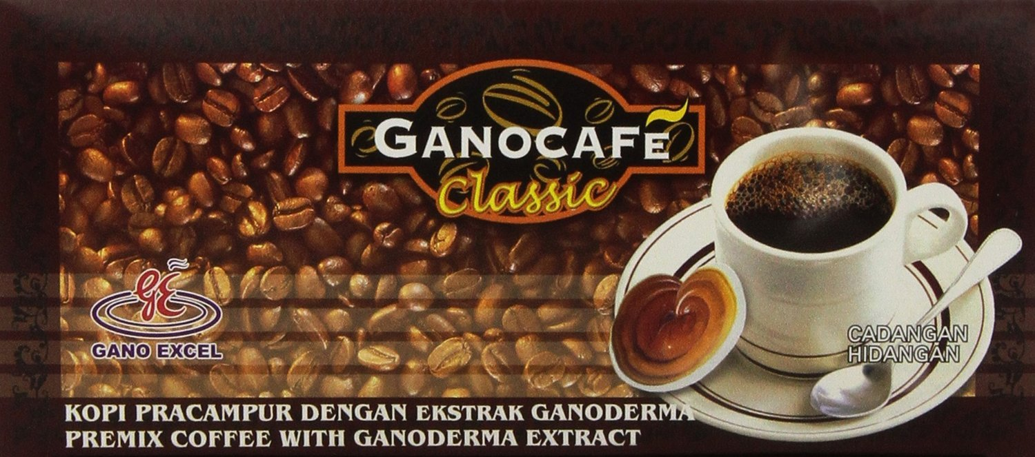 10 Boxes Gano Excel Ganocafe Classic Black Coffee With Ganoderma Extract + DHL Express Shipping