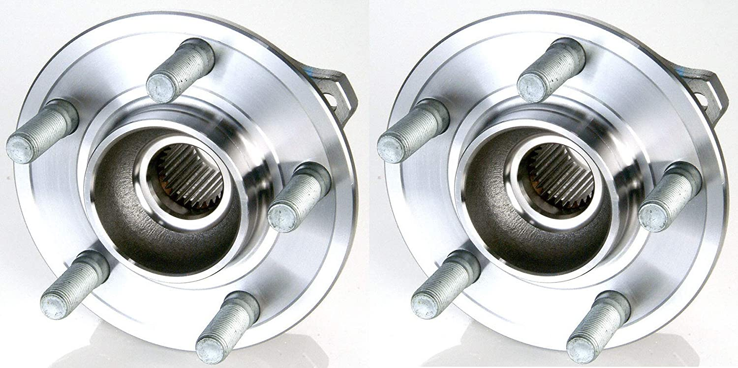 Two Bearings Included for Left and Right Sides 2014 for Mercedes-Benz GL350 Front Premium Quality Wheel Bearing and Hub Assembly Pair Stirling - One Year Warranty