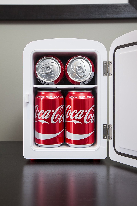 Koolatron KWC-4 Coca-Cola Personal 6-Can Mini Fridge ;P#O455K5/U 7RK-B274606 by Coca-Cola (Image #4)
