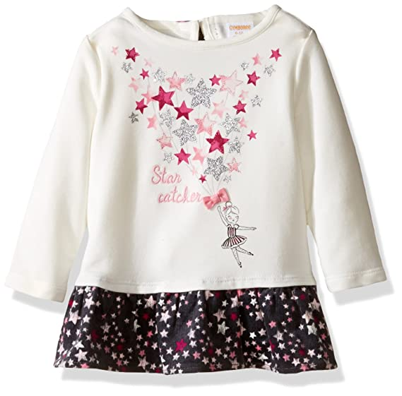 ef5abd8c2 Amazon.com  Gymboree Baby Girls  Graphic Top with Bow