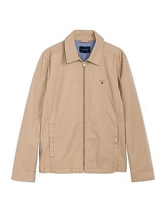 e8697fc96ab Gant Men's The Windcheater Jacket Navy: Amazon.co.uk: Clothing