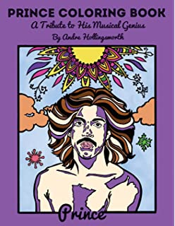 Prince The Coloring Book Feral House Coloring Books For Adults