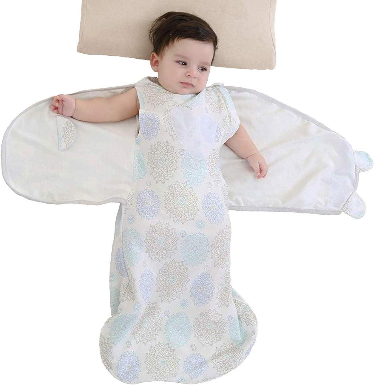 childrens winter growing sleeping bag baby anti-kick quilt-blue/_100cm Baby Swaddle Sack Blanket Sack,Thickened baby sleeping bag