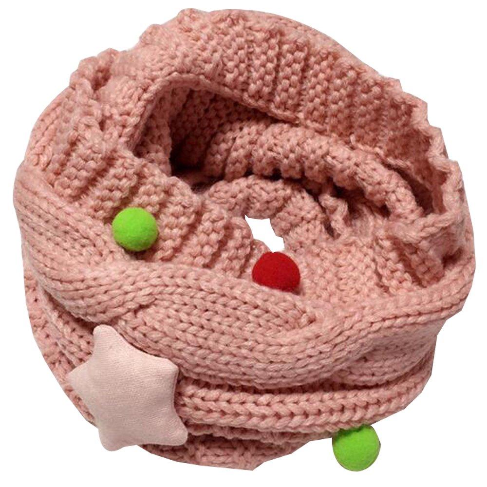 BOZEVON Nuovo autunno inverno ragazzi ragazze bambini carino sciarpa di cotone O anello collo sciarpe 50 * 20CM