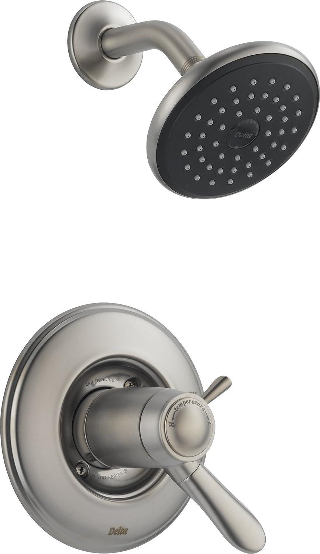 Bon Delta T17T238 Lahara Tempassure 17T Series Shower Trim, Chrome   Shower  Installation Kits   Amazon.com