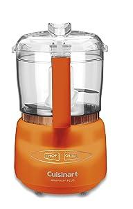 Cuisinart DLC-2AO Mini-Prep Plus Processor, Orange