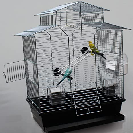 Heimtiercenter Jaula de pájaro Jaula, exoten, Periquito, 60 cm ...