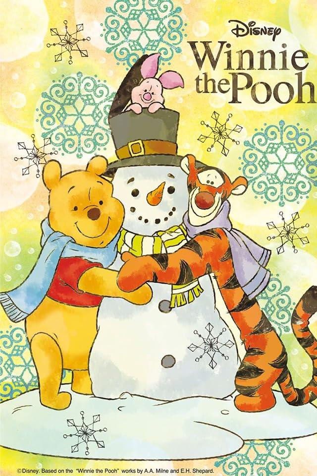 ディズニー 冬の日のプーたち iPhone(640×960)壁紙 画像57852 スマポ