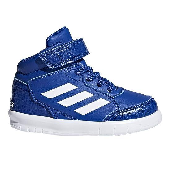 online store 615b6 bac98 adidas AltaSport Mid El I, Chaussons Mixte bébé Amazon.fr Chaussures et  Sacs