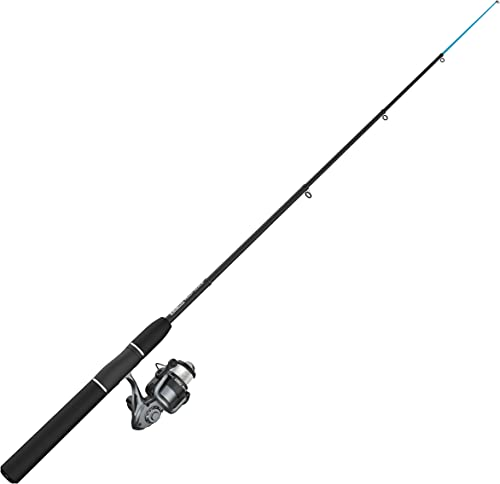 Zebco Ready Tackle Combo, Freshwater, 2.8 1 Gear Ratio, 5 6 Length, Telescopic, 6-10 lb Line Rate, RH