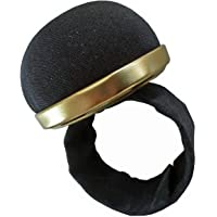 Bohin 98320 Adjustable Snap Bracelet, Black pin Cushion