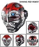 Motorcycle Helmet Top ABS War Machine Men Iron