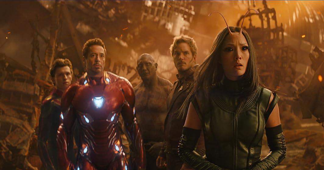 Avengers: Infinity War (Plus Bonus Content) The Avengers must defeat Thanos or die.