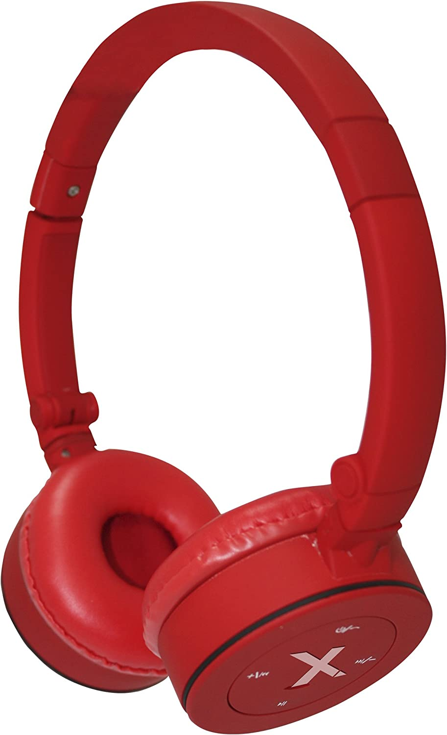 Approx APPHSBT02R - Auricular Bluetooth Stereo, Color Rojo