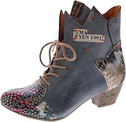 Neu Damen Boots Stiefeletten Stiefel Schnür Schuhe Größe 36 37 38 39 40 41