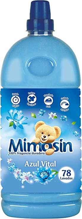 Mimosin Azul Vital Suavizante concentrado - 78 lavados - pack de 8 ...
