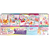 Fashion Angels 100% Extra Small Sweets Mini Clay 5 Pack- Air Dry Clay- Tiny Food Kit
