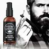 Pre Shave Oil for Men - Best Shaving Oil with