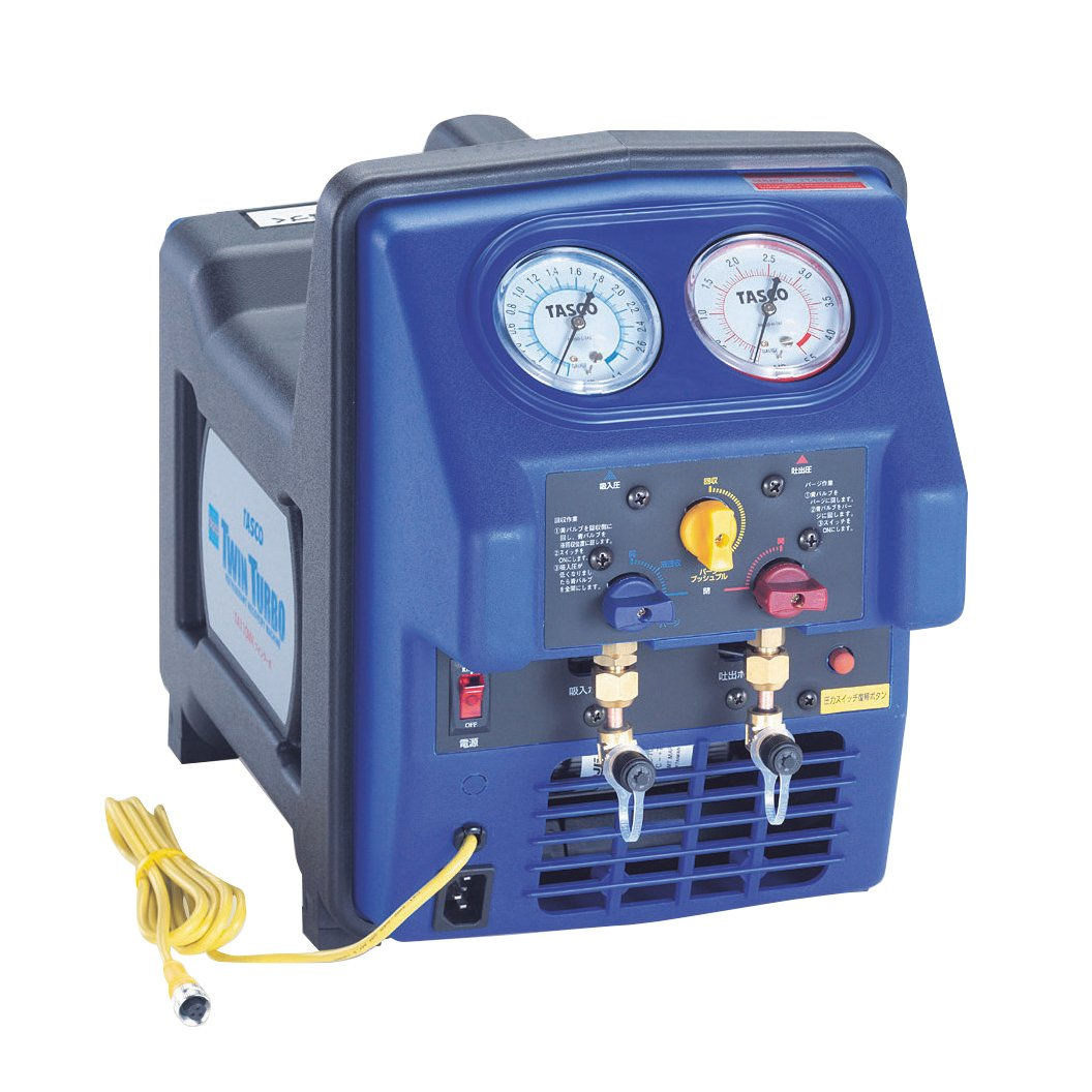 イチネンTASCO TA110MR 冷媒回収機 B01E58EW8I