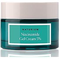 Niacinamide Gel Cream 5% - 1.7oz, Vitamin B3, Minimize Pores, Deep Hydration, Facial Cream with Niacinamide and Coconut…