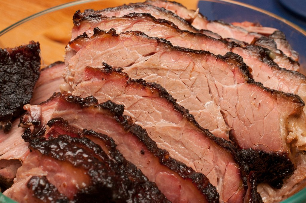 Superior Angus USDA Choice Whole Boneless Brisket Roast - 12-14 Pounds Roast for Delivery by The Texas Steak Warehouse (Image #1)