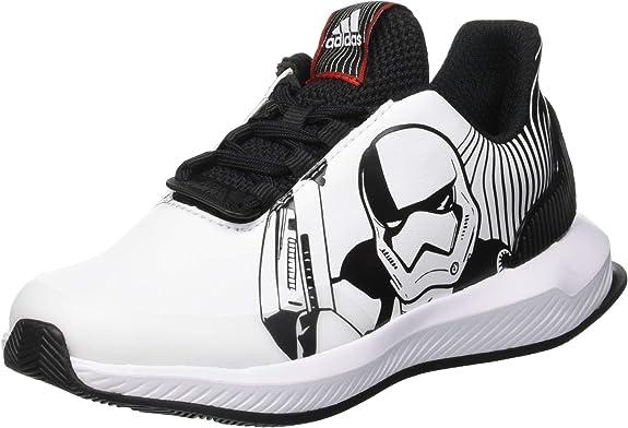 adidas RapidaRun Starwars K, Zapatillas de Running Unisex Niños, Negro (Core Black/FTWR White/Scarlet), 40 EU: Amazon.es: Zapatos y complementos