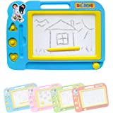 Blue Children Drawing Board Educational Toys,There Are Four Painting Colors