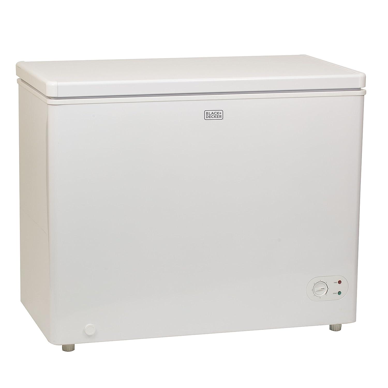 Ft Chest Freezer BLACK+DECKER BCFK71W 7.1 Cu