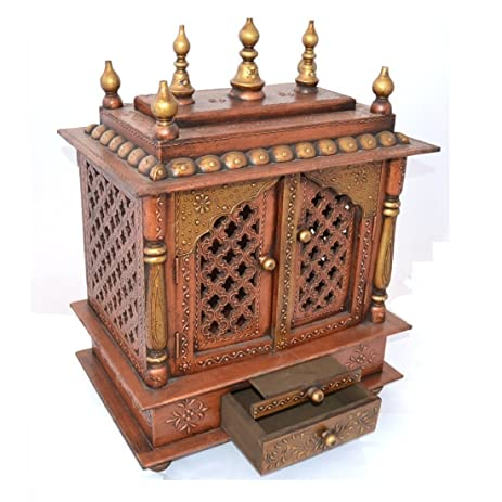 Mereappne Wooden Pooja Mandir |Indian| |Hindu| |Decoration| |Puja|