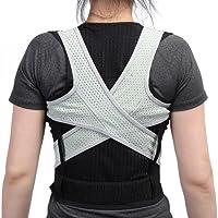 Corrector de postura, postura ajustable Corrector de espalda hombro Correa lumbar Cinturón de corrección de soporte para estudiantes Niños Adultos