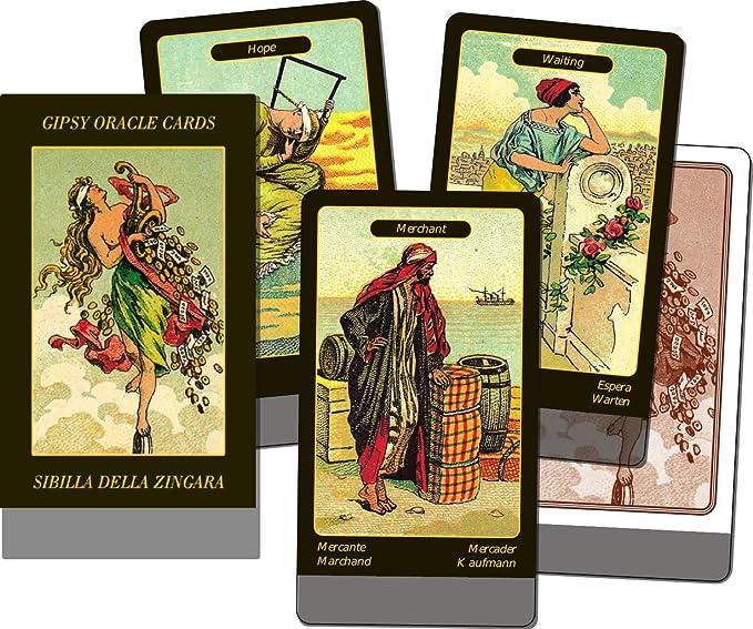 Lo Scarabeo - Karten: Zigeuner Orakelkarten (Gypsy) Verkaufskarton