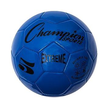 CHAMPION SPORTS Extreme Series Balón de Fútbol: Amazon.es ...