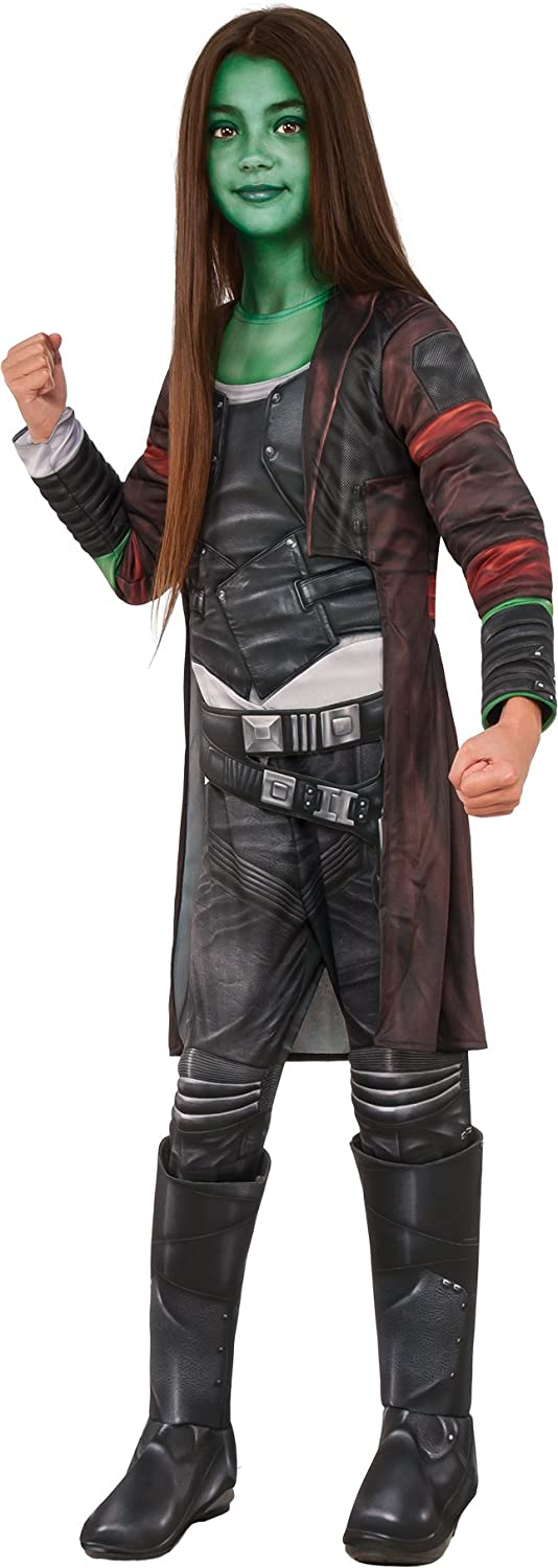 446e8e411a Rubies Guardians Of The The The Galaxy Vol. 2 Girls Deluxe Gamora Costume L  fe7bf4