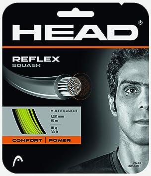 Head Cabeza Raqueta de Squash (Reflex Set - Amarillo: Amazon.es: Deportes y aire libre