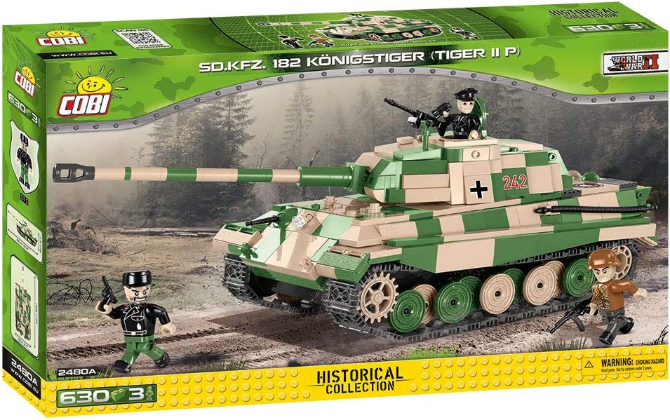 COBI Historical Collection Kpfw VI Tiger II