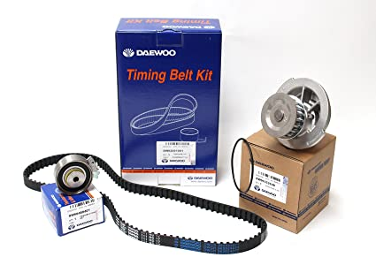 Timing Belt Kit for Chevy Chevorlet Corsa Daewoo Cielo Lanos with Water Pump (96352648)